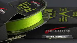 Tubertini Viral Braided line 10/100 fluo yellow 150m