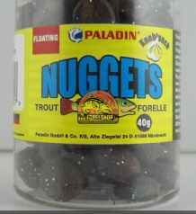 Waterafstotend trout pellets Black
