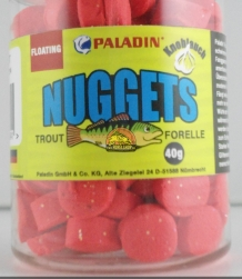 Waterafstotend trout pellets neon Red