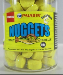 Waterafstotend trout pellets Sunny Yellow