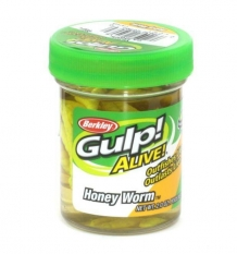 Gulp! Alive Honey worms; Yellow