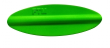 FTM Tornado Inline Spoon | 3,5g | 48mm | Green/Red 357